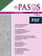 Revista Pasos Julio-Septiembre 2011