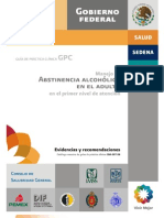 Abstinencia Alcoholica Adulto ER