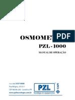 Manual Osmometro PZL1000