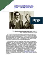 VIDA, AVENTURAS Y OPINIONES DEL CABALLERO VICTOR ROTHSCHILD (I)