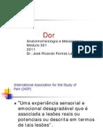 Dor - Anatomofisiologia e Mecanismos