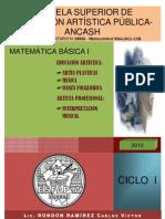 Folleto Matematica I-2012