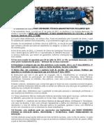 Esclarecimentos Importantes do Comando de Greve dos Servidores Técnico-Administrativos do CEFET/RJ