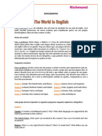 The World in English