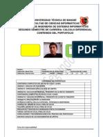 Evaluacion Del Portafolio