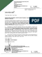 surat siaran pelaksanaan sukan sekolah