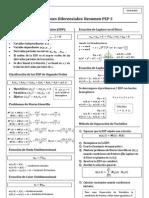 Ecuaciones Diferenciales PEP 3 (Usach)