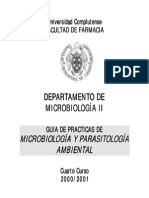 Manual de Practicas de Microbiología Ambiental