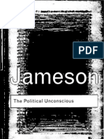 Fredric Jameson the Political Unconscious Narrative as a Socially Symbolic Act 2002