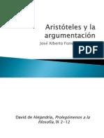 Aristóteles y la argumentación