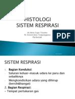 Kuliah Histologi Respirasi 2012