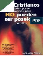 Norman Parish-Los Cristianos Pueden Poseer Demonios Pero No Pueden Ser Poseidos Por Ellos