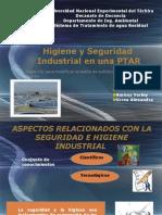 Higiene y Seguridad Industrial en Una PTAR