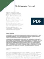 Analise Do Poema ANOITECER-Raimundo Correia