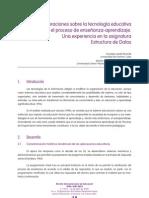 Consideraciones de La Tecnologia Educativa en El Proceso E-A