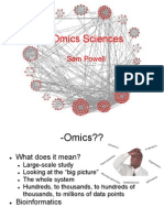 Omics Sciences[1].Pptx