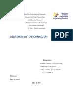 Sistema de información v