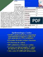 Clase Caidas