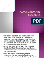 Communism and Socialism-report