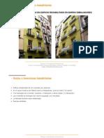 Dossier Promoción de viviendas en la Calle Ruda Alquiler