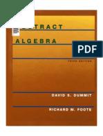 Abstract Algebra, Dummit, 2004