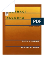 Abstract Algebra, Dummit, 2004