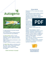 Training Autogeno - Silvana Borile