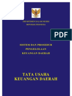 27046531 Sistem Dan Prosedur Tata Usaha Keuangan Daerah Permendagri 13 2006