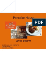 Pancake House Service Blueprint