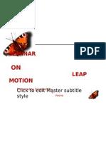 Leap Motion Ppt