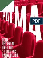 Palma, Feria de Teatro en el Sur 2012 CATÁLOGO