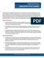 Professional Services Fact Sheet (Digital Marketing) by WSI Online