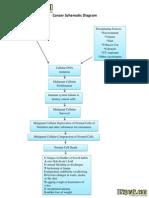 Cancer Schematic Diagram