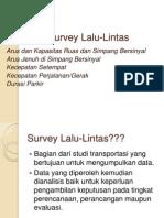 Survey Lalu Lintas