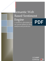 Semantic Web Based Sentiment Engine