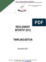 Reglement sportif 2012 Mise à jour 24052012