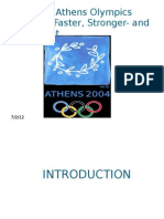 The 2004 Athens Olympics Network
