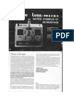 User Manual ROBBE LUNA 27 Mhz FM