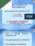 Gassing Tendency of Oil