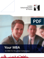 MBA Fact Sheet