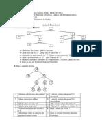 Exercicios Estruturas de Dados - Arvores