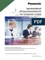 VC600 VC300 NA User Manual English Ver 2 2