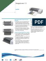 Impresora HP Designjet 111 Brochure