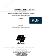 Specifications Caltrans