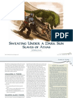 Dragon 390 Slaves of Athas