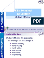 11. Methods of Training