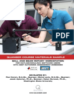 Quanser Course Material Sample - Ball and Beam Rotary Workstation