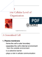 Ch03 the Cellular Level of Organization