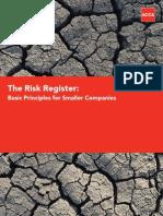 The Risk Register-T Morton