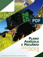 Plano Agrícola e Pecuário 2012/2013